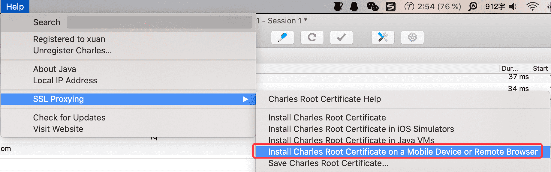 install-mobile-certificate
